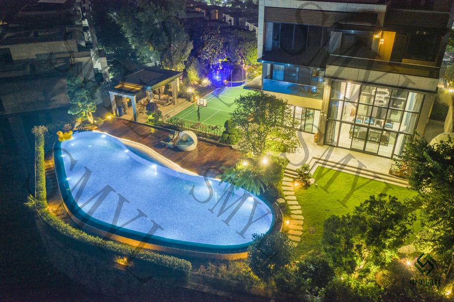 广州玖珑湖松林街别墅花园项目