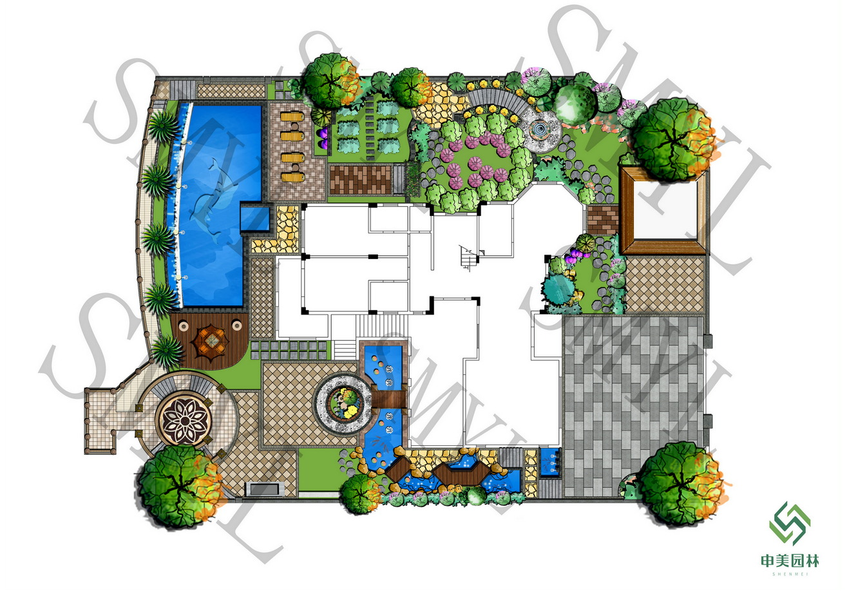 佛山三水爱伦堡别墅花园项目